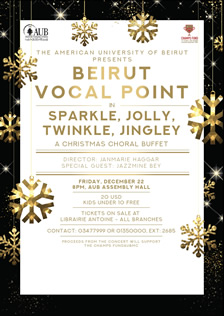 The American University of Beirut presents Beirut Vocal Point