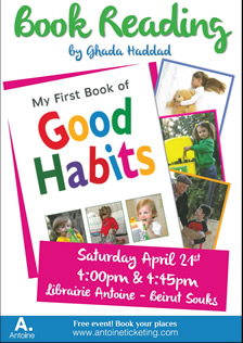 Book Reading By Ghada Haddad - My First book of Good Habits