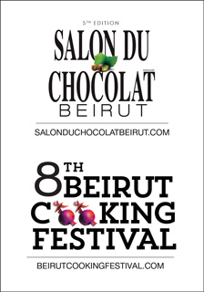 5ème Edition Salon Du Chocolat Beirut | 8th Beirut Cooking Festival | 8-10 November 2018