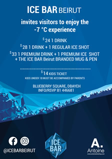 ICE BAR Beirut | The first Ice Bar in Lebanon.