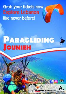 Antoine Ticketing - PARAGLIDING Jounieh