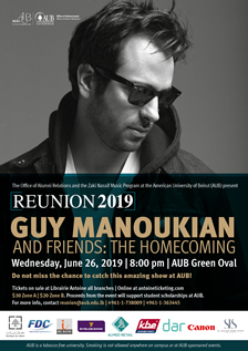Guy Manoukian and Friends : The Homecoming