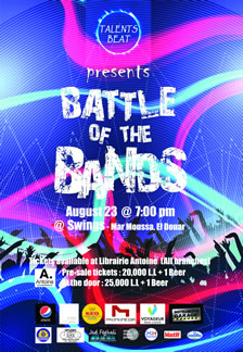 Talents Beat presents Battle of the Bands