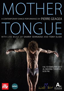 Mother Tongue a contemporary Dance Performance by Pierre Geagea