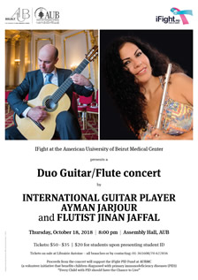 Duo Guitar / Flute Concert at AUB