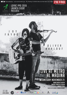 Joy Fayad & Oliver Maalouf Live at Metro
