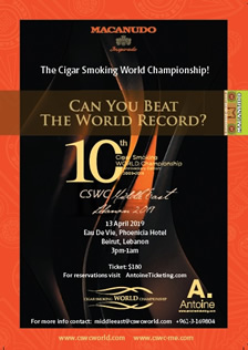 The Cigar Smoking World Championship Middle East - CSWC