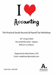 Practical NSSF & Payroll Tax Workshop - I love Accounting