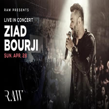Ziad Bourji Live In Concert at RAW