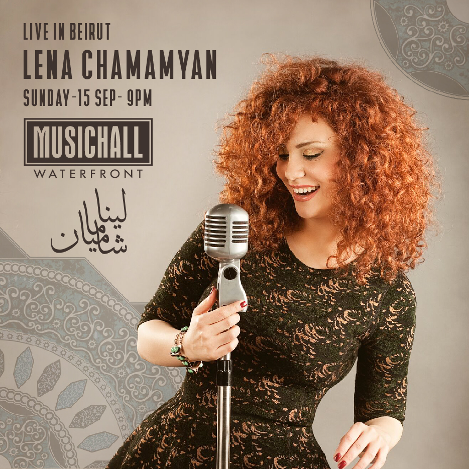 Lena Chamamyan live at the MusicHall